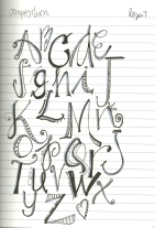Letter Love Composition