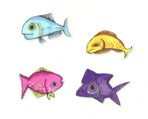Fresh FishStix Sketches