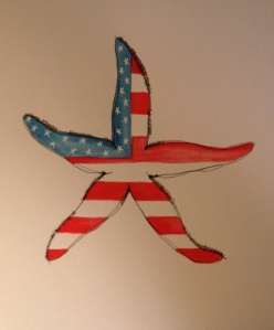 Patriotic Sea Star