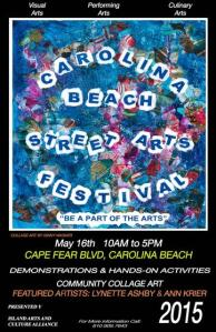 Carolina Beach Arts Poster